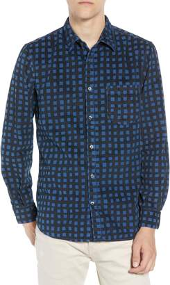French Connection Gridlock Regular Fit Corduroy Shirt