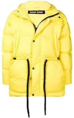 Ienki Ienki drawstring padded coat
