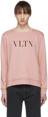 Valentino Pink VLTN Sweatshirt