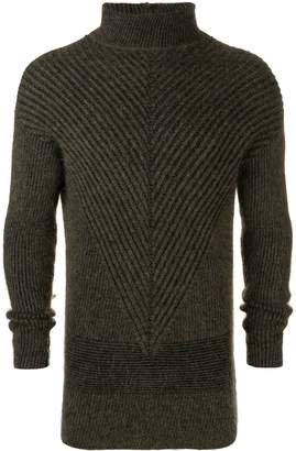 Rick Owens Fisherman turtle neck sweater