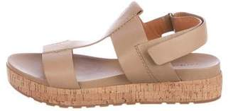 Sigerson Morrison Leather T-Strap Sandals