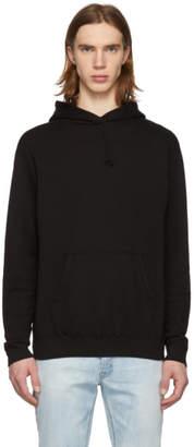 John Elliott Black Vintage Fleece Hoodie