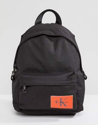 Calvin Klein Jeans Logo Backpack In Mini