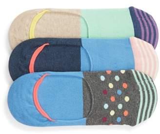 Happy Socks 3-Pack Liner Socks