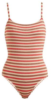 Solid & Striped The Nina Striped Swimsuit - Womens - Multi Stripe
