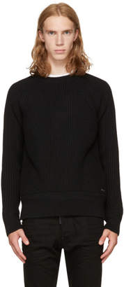 DSQUARED2 Black Amish Sweater