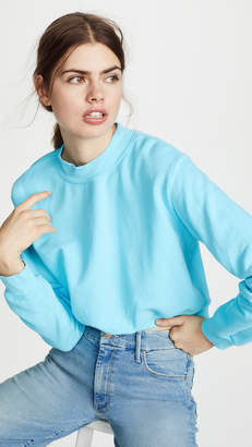 Cotton Citizen Milan Crop Crew Sweatshirt