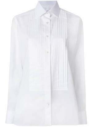 Tom Ford pleated placket shirt