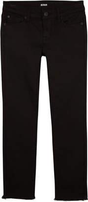 Hudson Cailin Raw-Hem Skinny Denim Jeans, Size 7-16