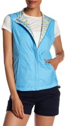 Peter Millar Reversible Wave Print Vest $129.50 thestylecure.com