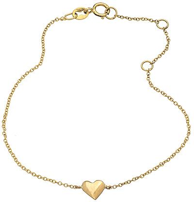 Janna Conner Fine Jewelry Petite Heart Bracelet
