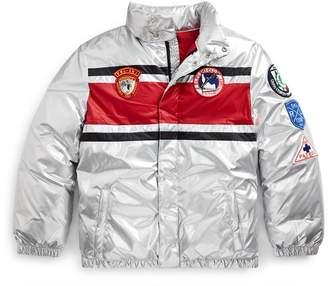 Ralph Lauren Striped Down Jacket