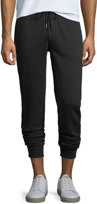 Moncler Drawstring Jogger Sweatpants, Black