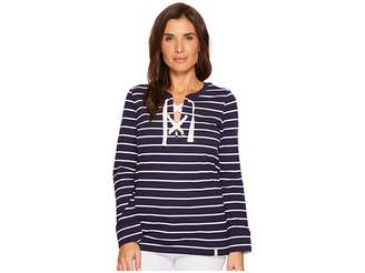 U.S. Polo Assn. Nautical Stripe T-Shirt Women's T Shirt