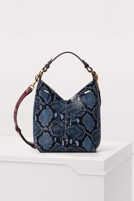 Anya Hindmarch Mini python print shoulder bag