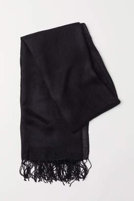 H&M Woven Scarf - Black