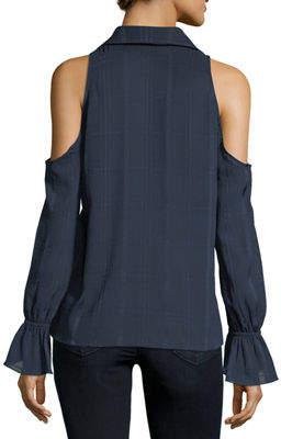 Waverly Grey Felicia Cold-Shoulder Top