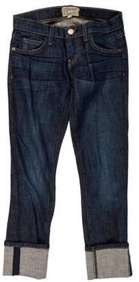 Current/Elliott The Beatnik Low-Rise Boyfriend Jeans