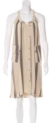 Belstaff Striped Silk Dress