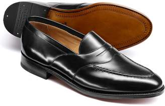 Charles Tyrwhitt Black Goodyear Welted Saddle Loafer Size 7