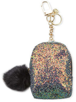 Neiman Marcus Mini Backpack Keychain with Portable Battery