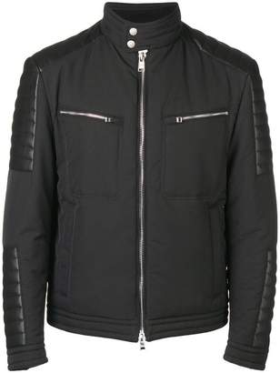 HUGO BOSS zipped biker jacket