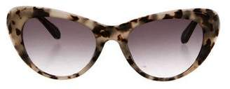 Cat Eye Krewe Irma Cat-Eye Sunglasses
