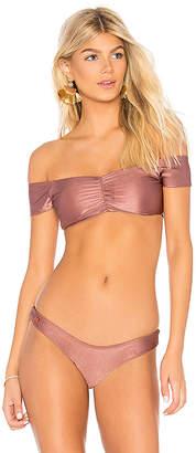 Maaji Reversible Off Shoulder Bikini Top