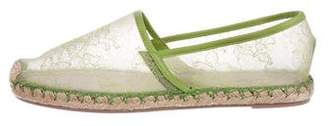 Valentino Lace Espadrille Flats w/ Tags
