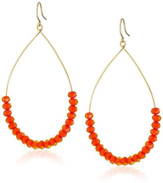 Yochi Opaque Hoop Earrings