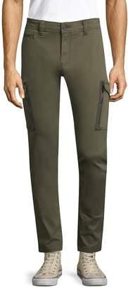 Diesel Men's Cotton Groove Solid Pants
