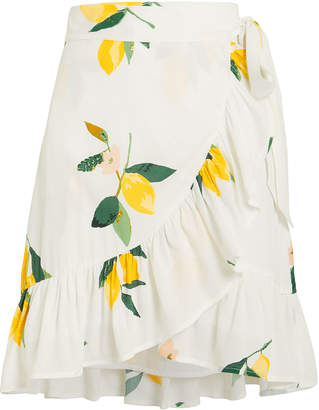 Rails Eienne Lemon Wrap Skirt