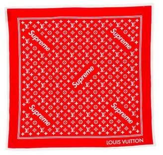 Louis Vuitton x Supreme 2017 Monogram Bandana