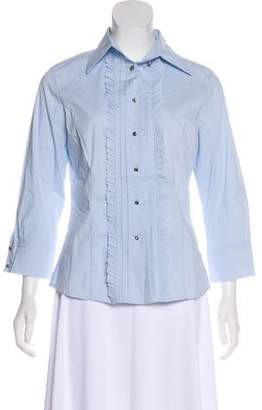 Royal Underground Casual Button-Up Top