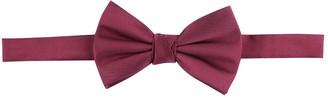 Burton Mens Burgundy Bow Tie