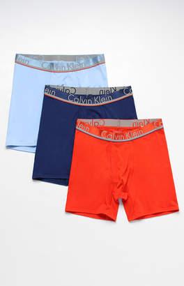 Calvin Klein Three Pack Boxer Briefs