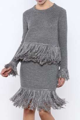 Endless Rose Fringe Sweater Top $48 thestylecure.com