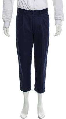 The Gigi Cuffed Flat-Front Pants