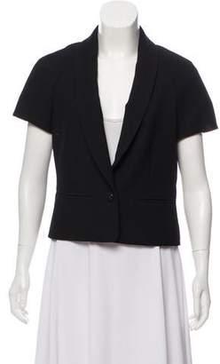 Chanel Short Sleeve Shawl-Lapel Jacket