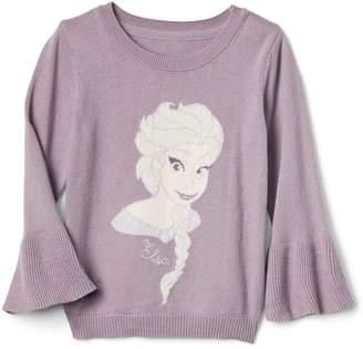 Gap babyGap   Disney Baby Frozen shimmer bell sweater