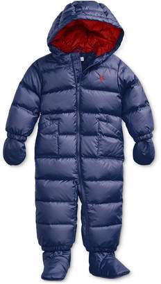 Polo Ralph Lauren Quilted Down Snowsuit Baby Boy