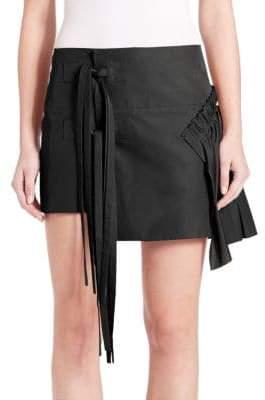 N°21 Lucie Asymmetrical Wrap Skirt