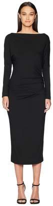 Vivienne Westwood Thigh Jersey Long Sleeve Dress Women's Dress