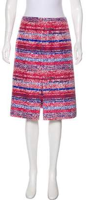 Tory Burch Silk A-Line Skirt