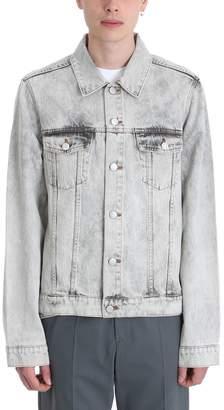 Martine Rose Grey Denim Jacket