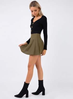Last Safari Mini Skirt