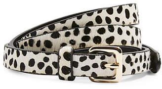 Topshop Dalmatian Skinny Belt