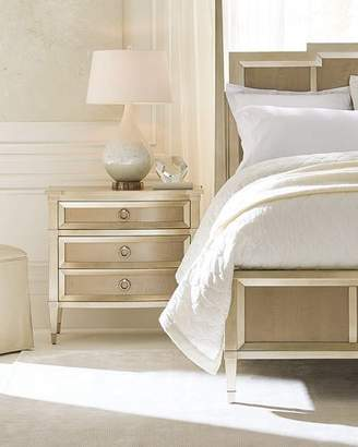 Caracole Jasmine 3-Drawer Night Stand