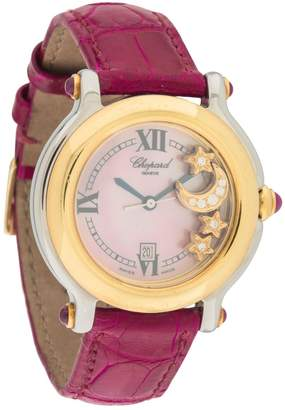 Chopard Vintage Happy Sport Pink Yellow gold Watches