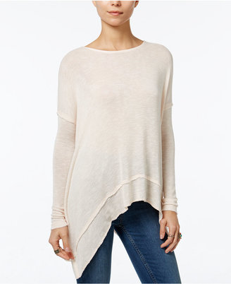 Free People Asymmetrical Open-Back Hacci Top $68 thestylecure.com